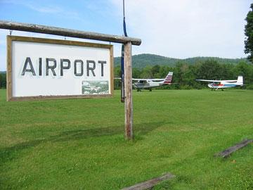 rural Maine airport